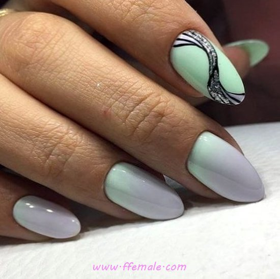 Perfect & Enchanting French Manicure Design Ideas - nail, graceful, beautytips, simple