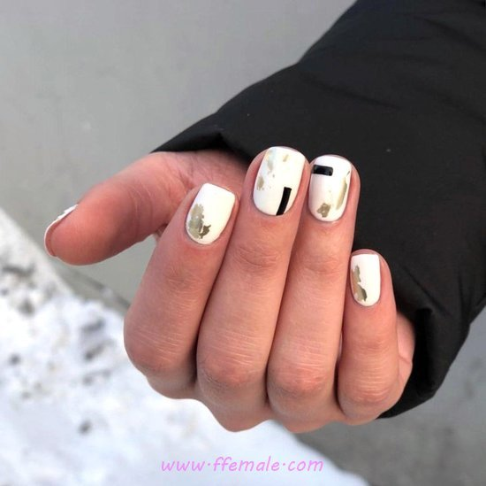 Pretty And Classic Gel Nails Design Ideas - nailidea, nails, lovely, elegant