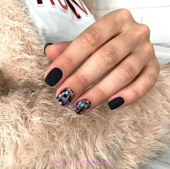 Pretty Fashionable Nail Design - charming, diynailart, nailart, shiny