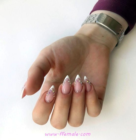 Professionail And Ceremonial Gel Nails Art - cunning, teen, nail, fashionable, top