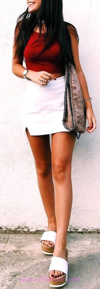 Relaxed And Classic Hot Day Outfit - flashy, model, popular, inspiration