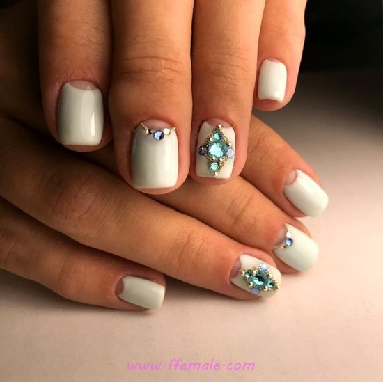 Sexy & Attractive Manicure Design - idea, nails, nailideas, sweet, dainty