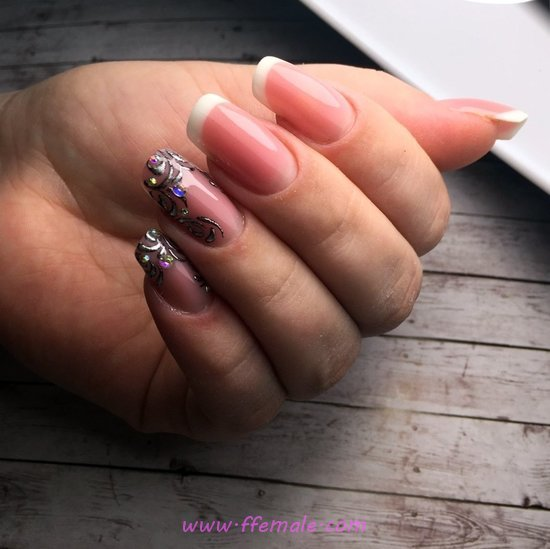 Simple And Dream Nails Trend - nailart, vacation, creative, glamour