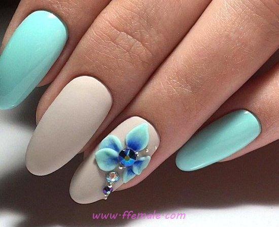 Simple And Fantastic Nail Idea - handsome, royal, love, nails, cunning