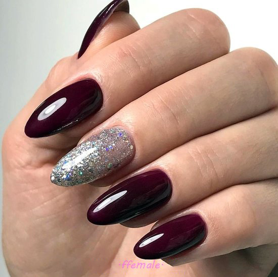 Simple & Balanced Acrylic Nail Ideas - nails, nailstyle, cunning, top, idea