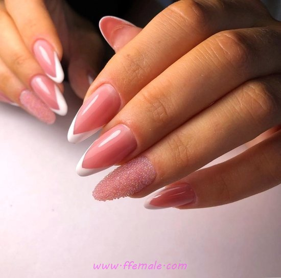 Simple & Balanced French Acrylic Manicure Style - best, naildesigns, nails, beauty