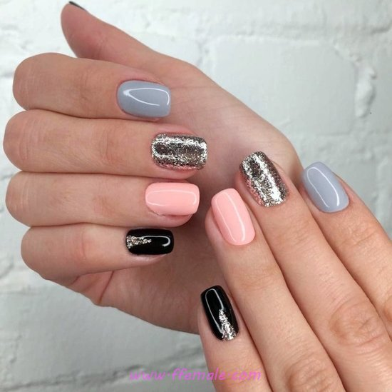 Simple Balanced Manicure Art Design - art, delightful, nail, getnails