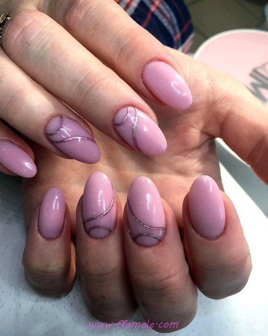 Stately And Charming Gel Nail Design Ideas - magic, nice, best, nailart, nailideas