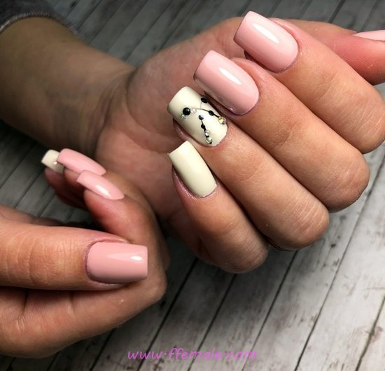Stately And Elegant Acrylic Nails - cool, precious, nail, furnished