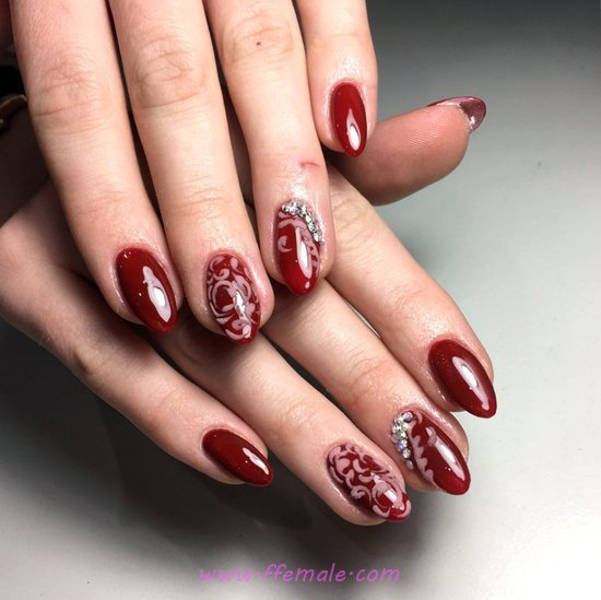 Stately Charming American Acrylic Manicure Trend - gel, elegant, gorgeous, smart, nail