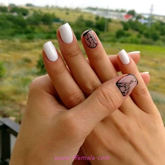 Super And Classy Acrylic Nail Idea - cool, attractive, top, nailidea, nail