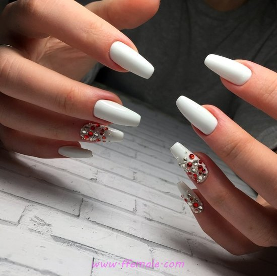 Super & Dream Acrylic Nails Art Design - lovely, glamour, nails, beautyhacks