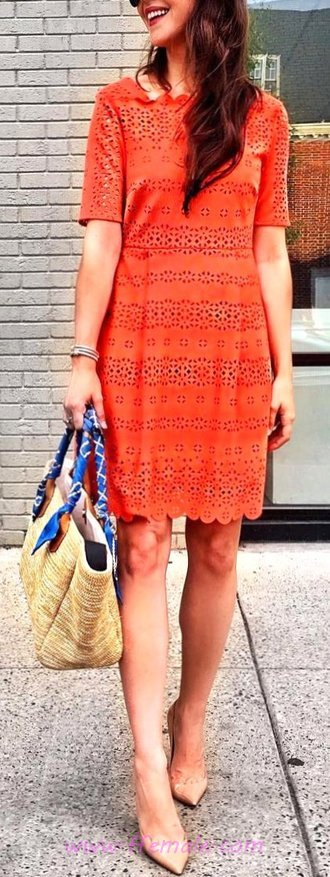 Sweet And So Elegant Summer Time Dress - thecollection, graceful, ideas, women