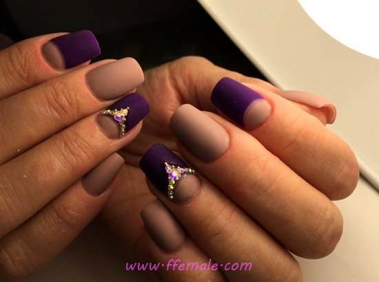 Top And Dream Gel Manicure Style - glamour, sexy, weekend, nailart