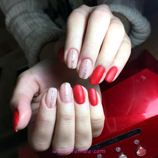 Top Classic French Acrylic Nails Design - lovable, nail, ideas, cunning