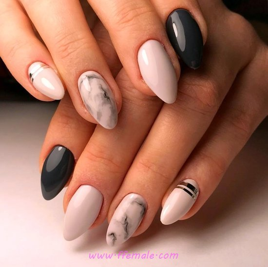 Top & Classic Manicure Design - nail, naildesigns, fashion, perfect