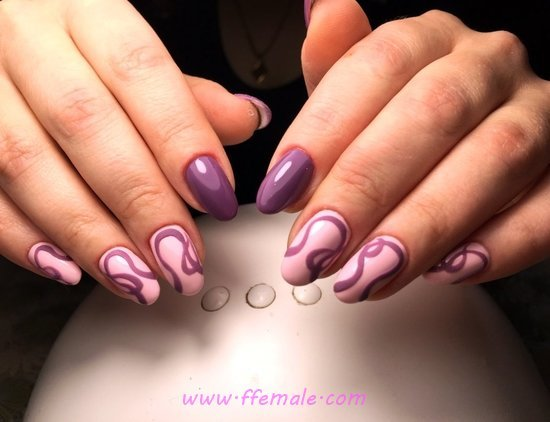 Top & Classy Gel Nails Art - nails, classic, getnailsdone, love