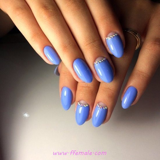 Top & Delightful Gel Manicure Trend - cool, weekend, nails, graceful