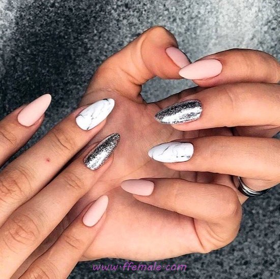 Wonderful And Birthday Acrylic Nails Design Ideas - art, diynailart, nail, dainty