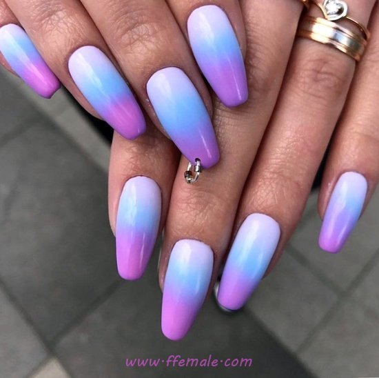 Wonderful Casual Manicure Design Ideas - nail, naildesigns, goingout, dreamy