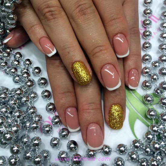 Wonderful Gel Manicure Style - glamour, nailart, naildesign, party